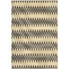 Kelston Grey/Ivory Outdoor Area Rug Rug Size: Rectangle 4' x 6'