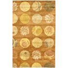 Rodeo Drive Light Brown Area Rug Rug Size: Rectangle 5' x 8'
