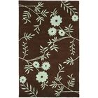 Lockwood Brown / Teal Contemporary Rug Rug Size: Rectangle 5' x 8'