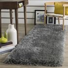 Jayne Hand Tufted Gray Area Rug Rug Size: Runner 2'3