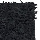 Albany Hand-Knotted Black Area Rug Rug Size: Rectangle 5' x 8'