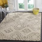 Amicus Beige/Gray Area Rug Rug Size: Rectangle 6'7