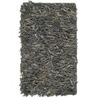 Albany Hand-Knotted Gray Area Rug Rug Size: Rectangle 5' x 8'