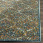 Grieve Blue Area Rug Rug Size: Square 6'7