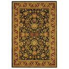 Anatolia Charcoal/Red Area Rug Rug Size: Rectangle 6' x 9'