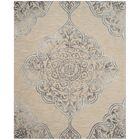 Brennan Hand-Tufted Wool Beige Area Rug Rug Size: Rectangle 8' x 10'