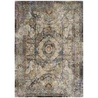 Monserrat Blue Area Rug Rug Size: Rectangle 5'1