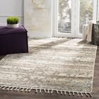 Maffei Knotted Cotton Beige Area Rug Rug Size: Rectangle 6' x 9'