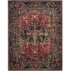 Mccall Red/Black Area Rug Rug Size: Rectangle 12' x 18'