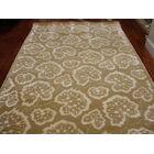 Sunny Geranium Leaf Hand Tufted Wool Chamomile Area Rug Rug Size: Rectangle 5'6