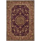 Latarra Hand Tufted Wool Burgundy Area Rug Rug Size: Rectangle 3' x 5'