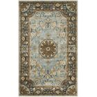 Latarra Hand Tufted Wool Blue Area Rug Rug Size: Rectangle 4' x 6'