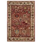 Kurtz Traditional Red Area Rug Rug Size: Rectangle 9' x 12'
