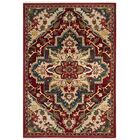 Kurtz Traditional Red Oriental Area Rug Rug Size: Rectangle 5'1