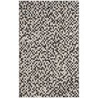 Patricio Leather Hand Tufted Gray Area Rug Rug Size: Rectangle 8' x 10'
