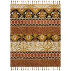 Niederanven Hand Tufted Wool Rust/Yellow/Black Area Rug Rug Size: Rectangle 8' x 10'