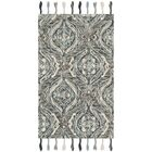 Niederanven Hand Knotted Wool Gray Area Rug Rug Size: Runner 2'3