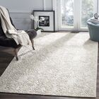 Marys Rustic Hand Tufted Wool Ivory Area Rug Rug Size: Rectangle 5' x 8'