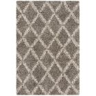 Quito Gray/Ivory Area Rug Rug Size: Rectangle 4' x 6'