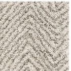 Cammie Ivory/Gray Area Rug Rug Size: Rectangle 5'1