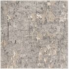 Edvin Gray Area Rug Rug Size: Square 6'7