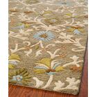 Parker Lane Hand-Tufted Wool Moss/Beige Area Rug Rug Size: Rectangle 5' x 8'