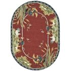 Kinchen Country Novelty Rug Rug Size: Oval 4'6