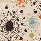 Lyon Fireworks Ivory Area Rug Rug Size: Rectangle 5' x 8'