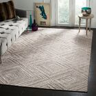 Oshinsky Gray Area Rug Rug Size: Rectangle 8' x 10'