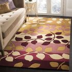 Chiara Red / Gold Rug Rug Size: 5' x 8'