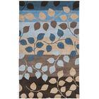Chiara Brown / Blue Rug Rug Size: 5' x 8'