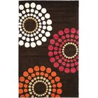 Peralta Brown / Multi Rug Rug Size: Rectangle 7'6
