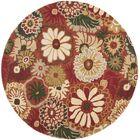 Jardin Rust / Multi Contemporary Rug Rug Size: Rectangle 8' x 10'