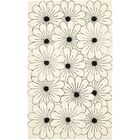 Lockwood Ivory / Black Contemporary Rug Rug Size: Rectangle 5' x 8'