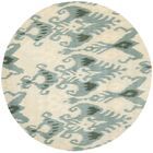 Ikat Beige/Slate Area Rug Rug Size: Rectangle 8' x 10'