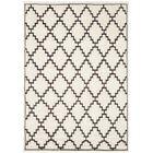 Mosaic Beige / Charcoal Geometric Rug Rug Size: Rectangle 8' x 10'