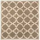 Clarksburg Brown/Bone Indoor/Outdoor Area Rug Rug Size: Square 7'10