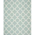 Dhurries Light Blue/Ivory Area Rug Rug Size: Rectangle 3' x 5'