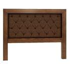 Mandir Queen Upholstered Panel Headboard Color: Espresso