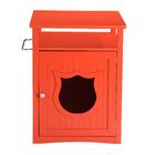 Kitty Cat Litter Box Color: Cherry