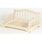 Dmitri Solid Wood Dog Bed Size: Small (28.5