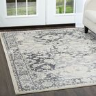 Jersey Gray/Ivory Area Rug Rug Size: Rectangle 7'9