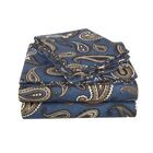 Gunnora 100% Cotton Sheet Set Size: King, Color: Navy