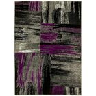 Purple/Gray Area Rug Rug Size: 8' x 10'