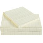 Classic 310 Thread Count Cotton Sheet Set Color: Sweet Corn, Size: Twin