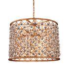 Lulsgate 8-Light Chandelier Finish: Gold, Bulb Type: LED