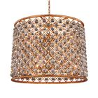 Lulsgate 12-Light Chandelier Shade Color: Golden, Bulb Type: Incandescent, Finish: Polished Nickel
