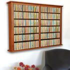 Double Wall Mounted Storage Rack Color: Cherry