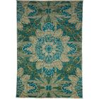 One-of-a-Kind Ziegler Hand-Knotted Blue / Gray Area Rug