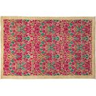 One-of-a-Kind Arts and Crafts Hand-Knotted Pink Area Rug